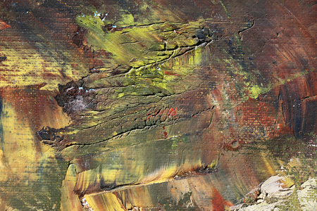 Painting knife technique with oil on canvas. Abstract art background. Stok Fotoğraf