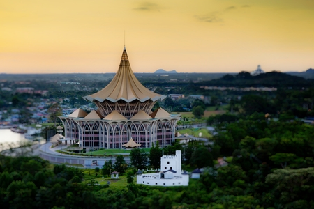 legislative: Sarawak State Legislative Assembly Building