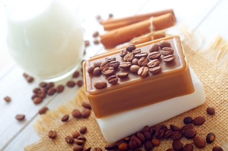 coffee soap photo