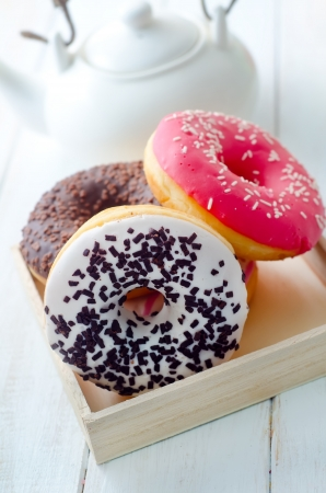 Sweet donuts, different kind from donuts