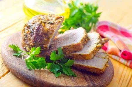 leberkaese: baked meat