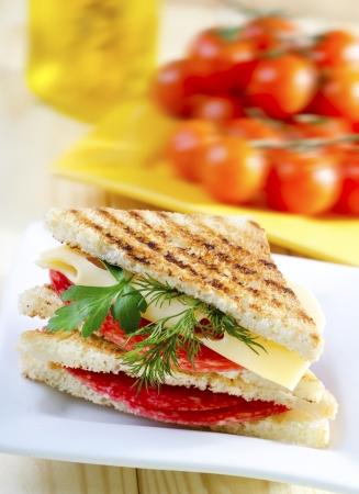 toast bread: sandwich