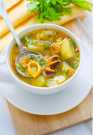 fresh soup Stock Photo - 16593452