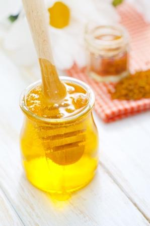 ambrosia: Pollen and honey