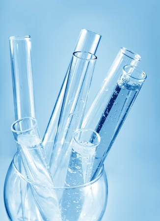 analytical chemistry: test-tube