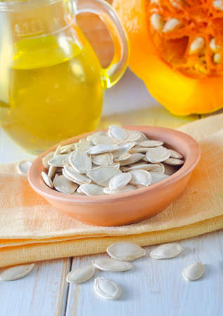 pumpkin seed Stock Photo - 16789345