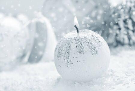 christma: candle