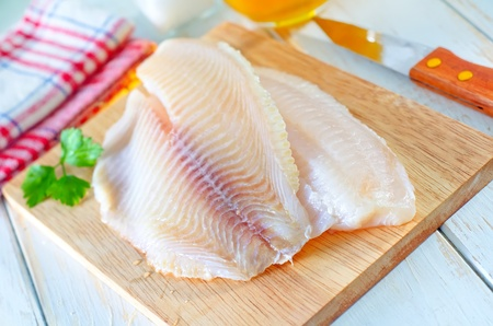 raw fish Stock Photo - 17032373