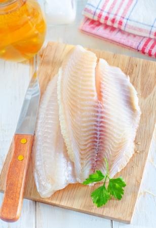 shark catfish: raw fish
