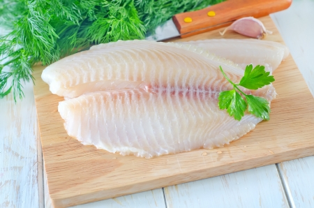 raw fish Stock Photo - 17032504