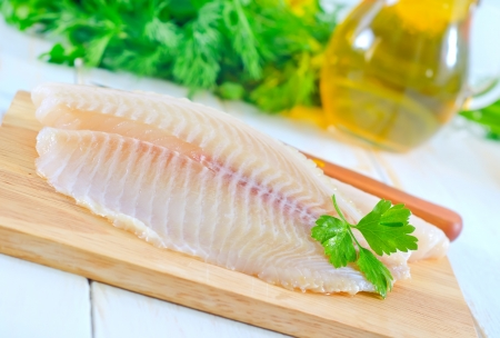 raw fish Stock Photo - 17032389