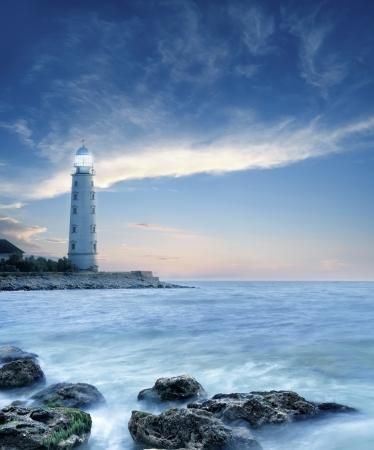crimea: lighthouse