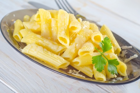pasta with cheese photo
