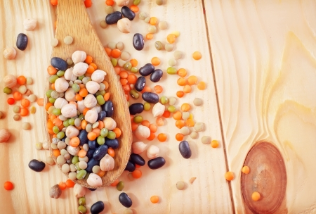 Color beans Stock Photo - 17301980