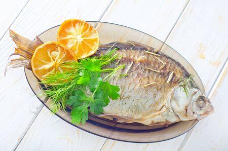 baked fish Stock Photo - 17336643