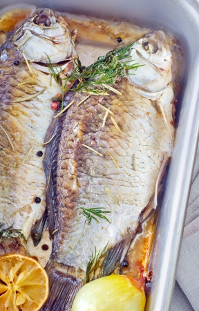 baked fish Stock Photo - 17336672