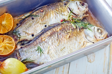 baked fish photo