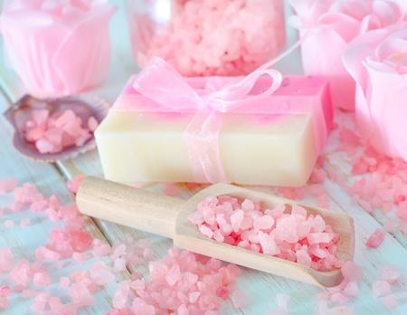 salt and soap photo