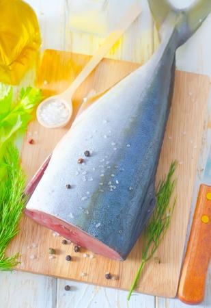 bluefish: raw tuna