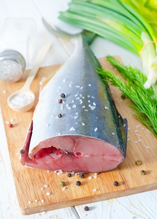 raw tuna photo