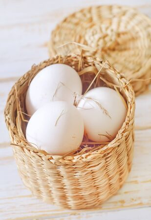 raw eggs Stock Photo - 17821824