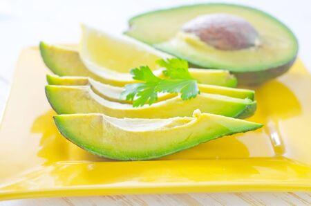 salad with avocado photo