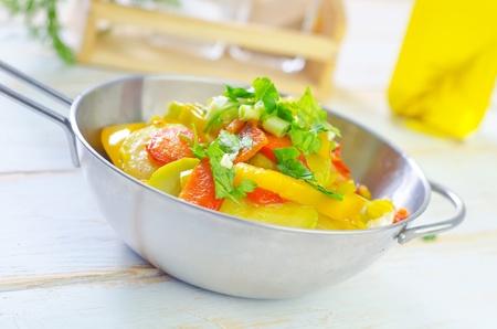 baked vegetables Stock Photo - 17822293