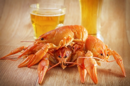 crabs and beer photo