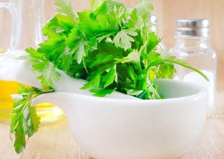favoring: parsley