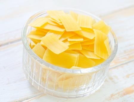 raw pasta Stock Photo - 18013768