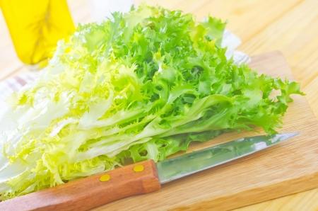 escarole: salad