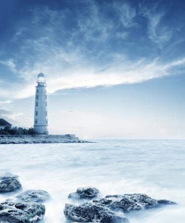 világítótorony Stock fotó