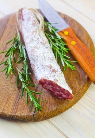 salami Stock Photo - 18550523