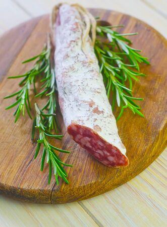 salami Stock Photo - 18550516