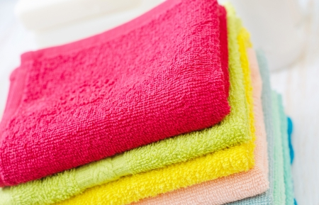 recuperate: soap and towels