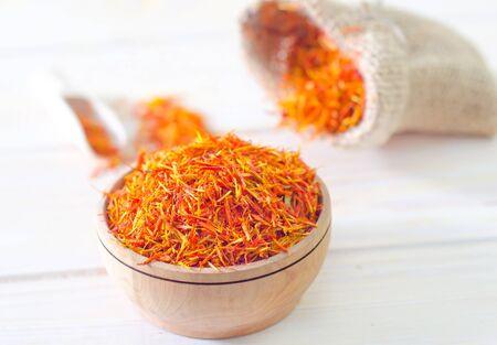 intense flavor: saffron Stock Photo