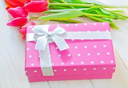 box for present photo