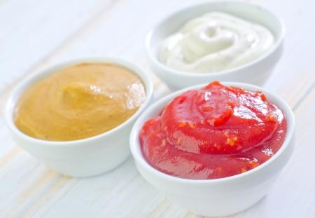 sauces 版權商用圖片