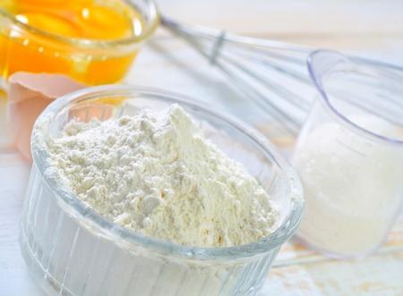 baking ingredients: ingredients for dough