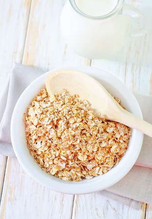 ear checked: oat flakes