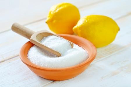 citrate: lemon acid
