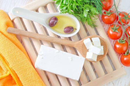 feta cheese photo