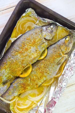 baked fish Stock Photo - 19770525