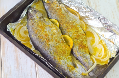 baked fish Stock Photo - 19770512