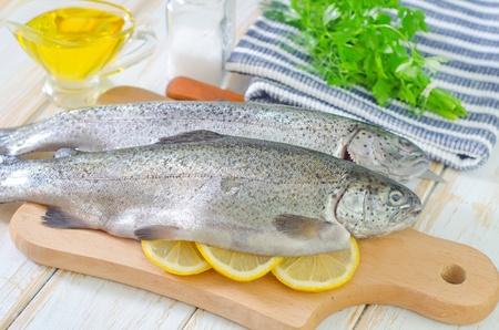 raw fish Stock Photo - 19770489