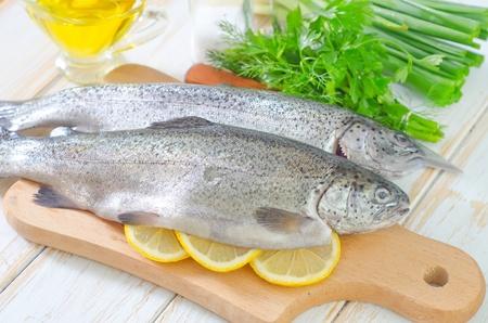 raw fish Stock Photo - 19770491