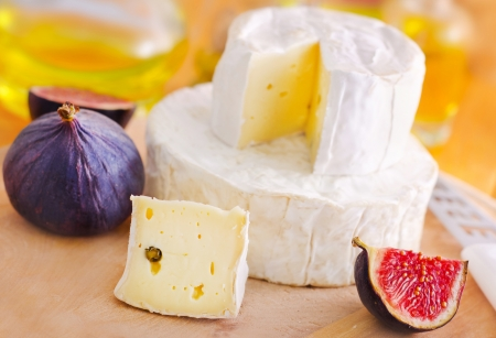 cheese and fig photo