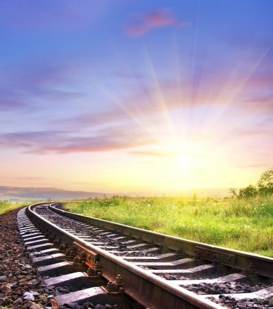 방사상: 철도