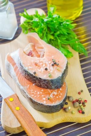 dog salmon: salmon