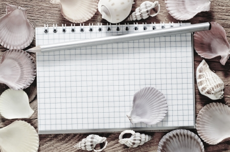 shells and note photo